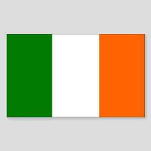Irish Flag Rectangle Sticker